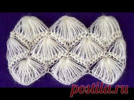Crochet pattern Fluffy fans