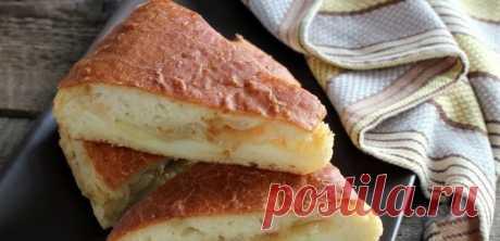 Постный пирог с картошкой   370 г муки; 2 головки лука; 20 г паприки; 80 мл растительного масла; 4 клубня картофеля.  По времени – 1 час и 40 минут. По калорийности – 232 калория. Как готовить постный пирог с картошкой и луком…