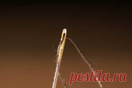 Простой трюк, чтобы мгновенно вдеть нитку в иголку | СОВЕТОФФ | Яндекс Дзен