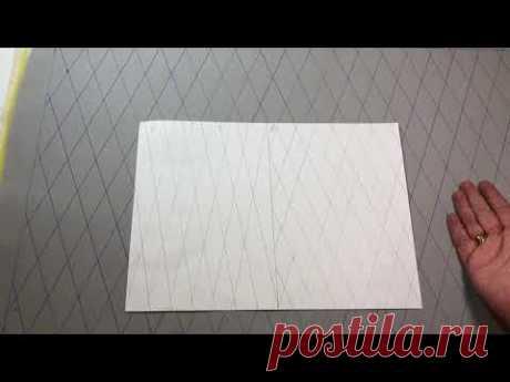 Квилтинг,  Стежка  на бытовой швейной машинке (способ 3)