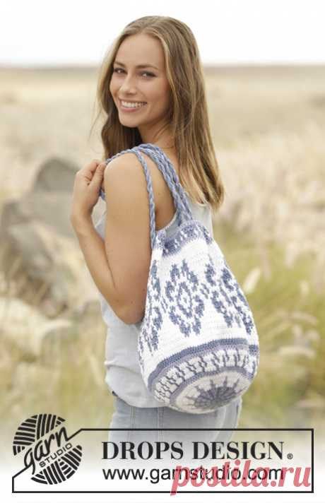 Carried Away\/DROPS 177-1 - Free crochet patterns by DROPS Design
