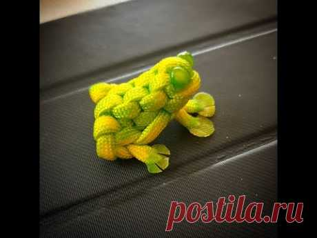 Лягушка из паракорда