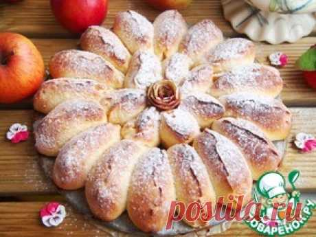 Отрывной яблочный пирог - кулинарный рецепт