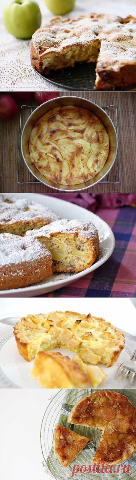 Рецепт шарлотки с яблоками: ТОП-5 способов приготовления