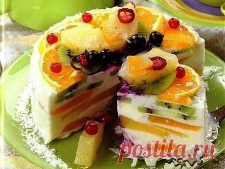 Шустрый повар.: Творожный торт «Волшебный»