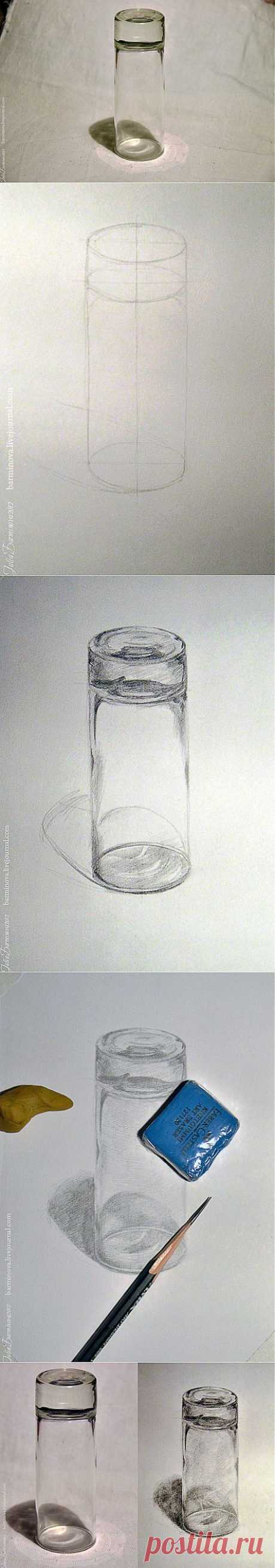 impressions, inspiration, aquarelle - Рисуем стекло