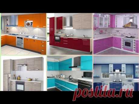 Идеи цвета кухонного шкафа || Модульная Кухня || Дизайн Кухонного шкафа || Дизайн кухни || 2021