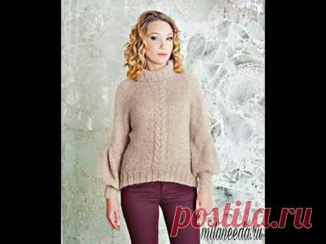 Реглан снизу без швов: Анонс МК спицами по вязанию свитера СУРИ (платный МК)