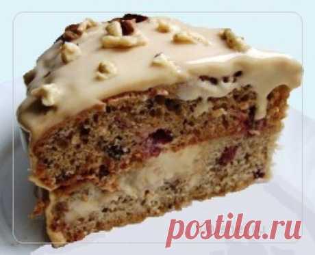 Торт на кефире «Поляна»