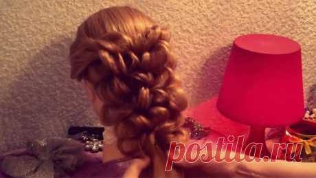 Причёска с помощью резинок - Красота! - 2