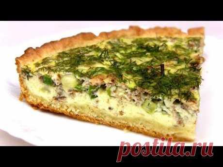Быстрый простой рыбный пирог со сметанной заливкой и зеленью.Сытный ужин для всей семьи! --Продукты-- Для теста: Маргарин - 100 г Мука пшеничная - 150 -170 г...