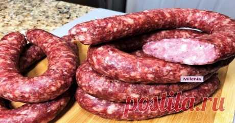 Домашняя колбаса Краковская в духовке Краковская колбаса имеет свой неповторимый вкус, который ни с чем не спутаешь