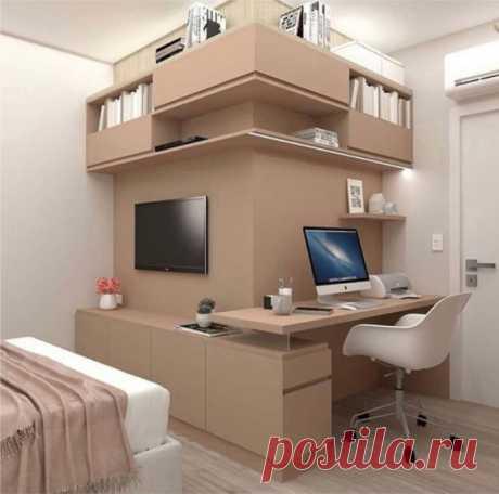 Оригинальное решение для комнаты.