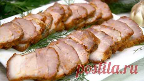 Беру свиную грудинку и готовлю мясную нарезку на праздничный стол или на завтрак вместо колбасы. Делюсь полюбившимся рецептом. | Готовим с Калниной Натальей | Яндекс Дзен