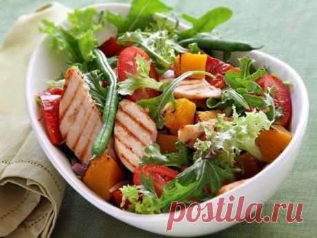 Рецепт жиросжигающего салата для похудения №18 | Похудение и стройная фигура | Яндекс Дзен