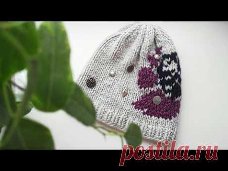 Самая Красивая Шапка Спицами / Вязание Knit Mom