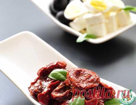 Вяленые томаты длительного хранения без холодильника-2 – кулинарный рецепт