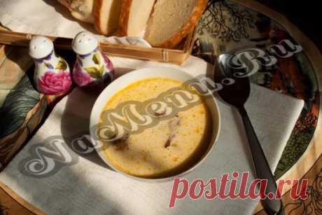 Сырный суп с копченостями (адаптирован для мультиварки)