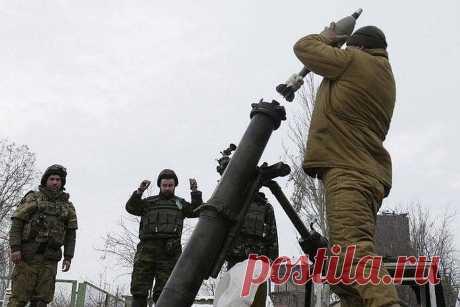 В ЛНР заявили о нарушении перемирия со стороны Украины