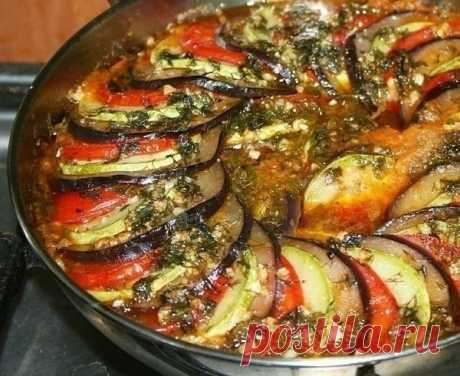 Рецепт рататуя - очень простой, а результат невероятно вкусный!