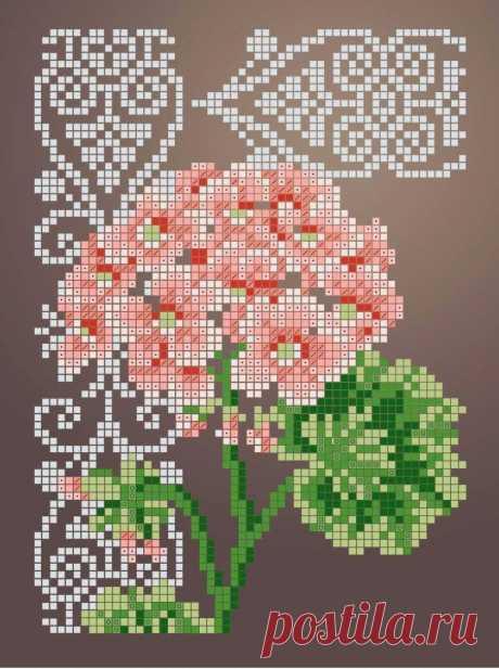 Схема для вышивки бисером Цветы «Зупа»™ «Пеларгония» (A5) 15x18 (ЧВ-2341 (10)) Схемы вышивки бисером - это специальная ткань с рисунком для вышивания бисером. Схема для вышивания нанесена на ткань в виде цветных обозначений поверх изображения. В состав входят рисунок на ткани и инструкция по вышиванию. Бисер в состав не входит.