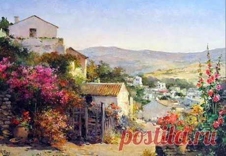Сказочная Испания на картинах испанского художника Мануэля Фернандеса