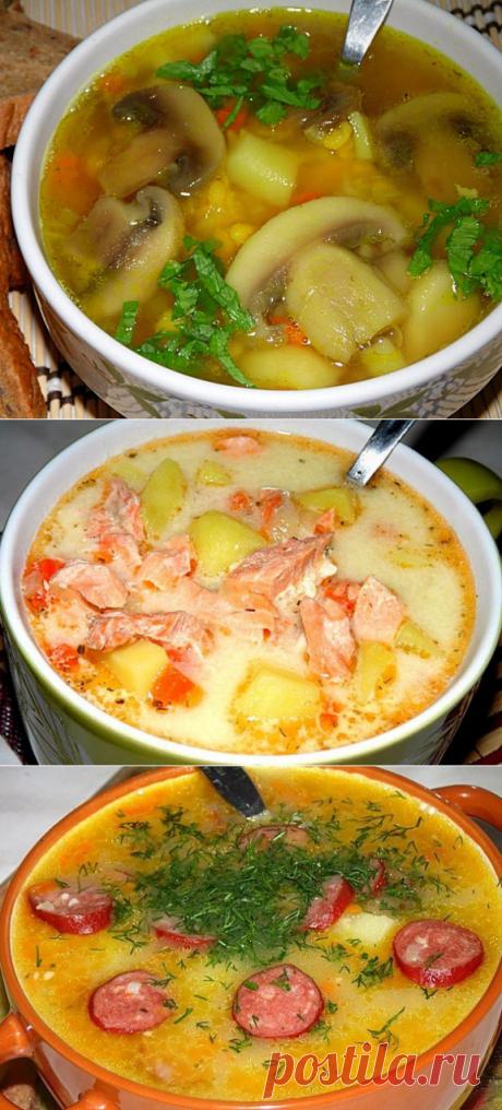 ТОП - 10 самых вкусных супов