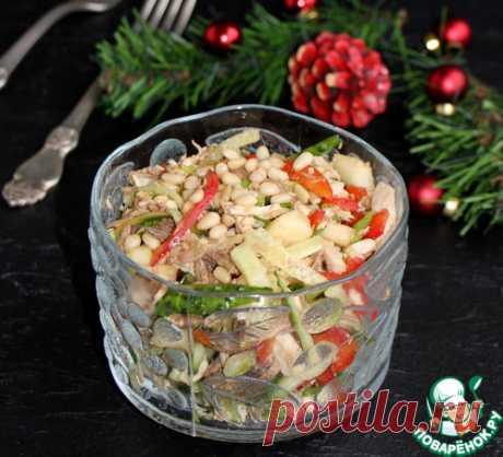 """Божественно вкусный салат """"Новогодняя сказка"""""""