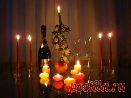 Замечательная подборка романтической музыки для вечера при свечах.