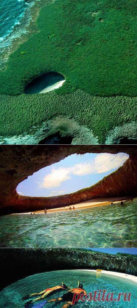 Тайный пляж островов Мариетас « Крутая тема: самые интересные фото, видео, вещи и явления со всего света
