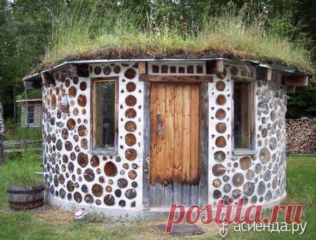 Строим баню из дров.: Группа Постройки на участке