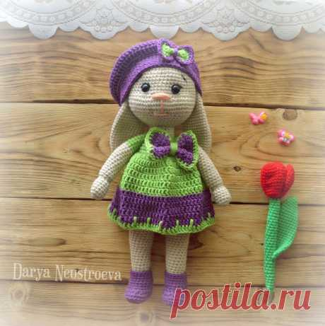 PDF Весенняя Заюшка. FREE amigurumi crochet pattern. Бесплатный мастер-класс, схема и описание для вязания игрушки амигуруми крючком. Вяжем игрушки своими руками! Кролик, заяц, зайчик, зайка, rabbit, hare, bunny, hase, lebre. #амигуруми #amigurumi #amigurumidoll #amigurumipattern #freepattern #freecrochetpatterns #crochetpattern #crochetdoll #crochettutorial #patternsforcrochet #вязание #вязаниекрючком #handmadedoll #рукоделие #ручнаяработа #pattern #tutorial #häkeln #amigurumis