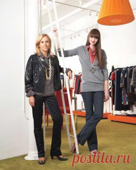 Переделка свитера и рубашки от Tory Burch Модная одежда и дизайн интерьера своими руками