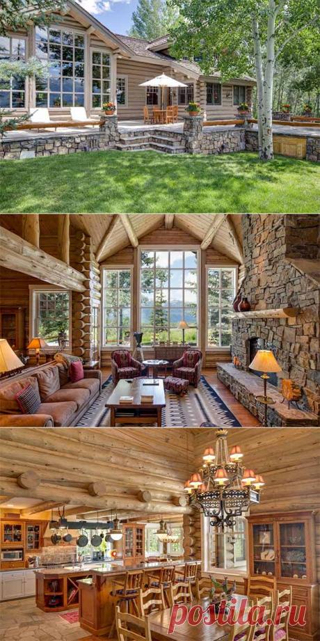 Светлый деревянный дом снаружи и внутри: 30 фото о секретах стиля
