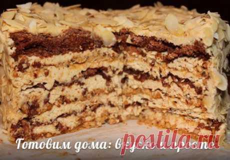 """Las recetas de todas partes. La Torta-merengue """"Агнес Бернауэр"""""""