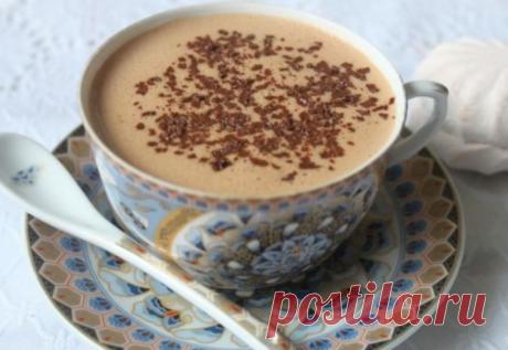 Горячий шоколад с зефиром - райское наслаждение