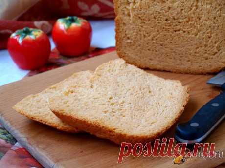 Хлеб на томатном соке в хлебопечке Предлагаю вам испечь хлеб на томатном соке в хлебопечке. Пеку этот хлеб в третий раз, каждый раз увеличивая количество сока. В этот раз взяла полный стакан.