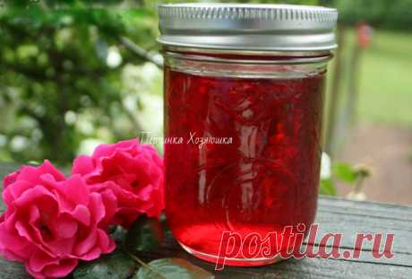 Сироп из лепестков розы - Заготовки от Перчинки - Perchinka Hozyayushka.ru