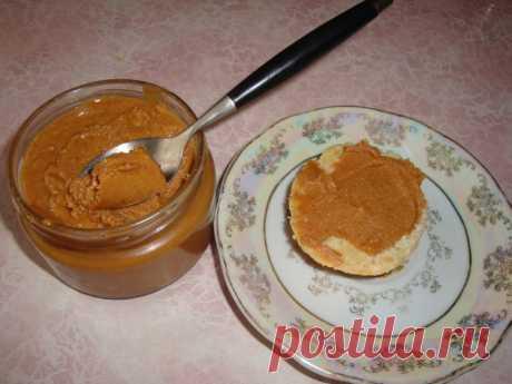 Арахисовая паста - готовим дома - Простые рецепты Овкусе.ру