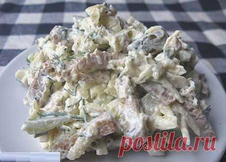 шеф-повар Одноклассники: Сырный салатик... Ммм..объедение!