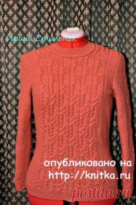 Вязание для женщин спицами на knitka.ru. Бесплатные схемы вязания для женщин спицами.