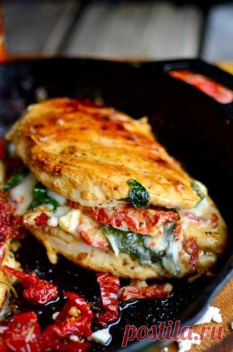 Куриные грудки, запеченные с овощами | Sladkij-domik.ru | Яндекс Дзен