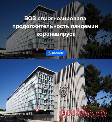 ВОЗ спрогнозировала продолжительность пандемии коронавируса - Новости Mail.ru