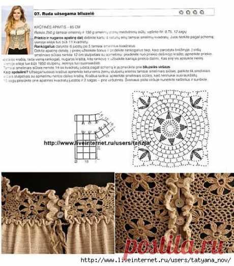 Комбинирование вязания с тканью