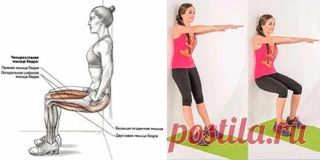 Как быстро похудеть в ногах? Всего 1 упражнение! | Всегда в форме!