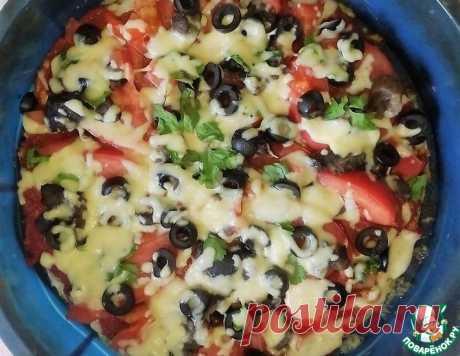 Яркая куриная пицца – кулинарный рецепт