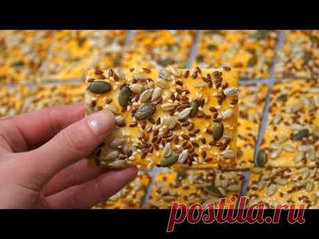 ОБОЖАЕМ ЭТО ПЕЧЕНЬЕ 😍 БЫСТРО и НЕДОРОГО! Полезное Зерновое Печенье Рецепт | Кулинарим с Таней