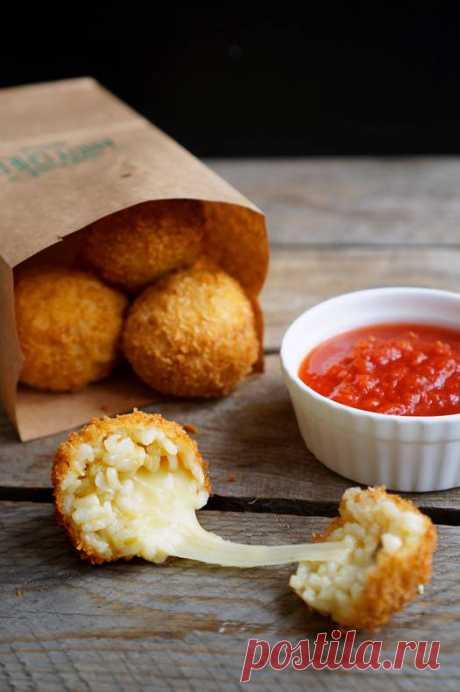 Аранчини из ризотто с сыром | Andy Chef (Энди Шеф) — блог о еде и путешествиях, пошаговые рецепты, интернет-магазин для кондитеров |