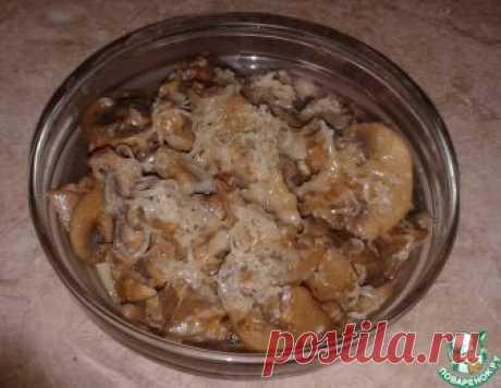Тушёные грибы в мультиварке – кулинарный рецепт