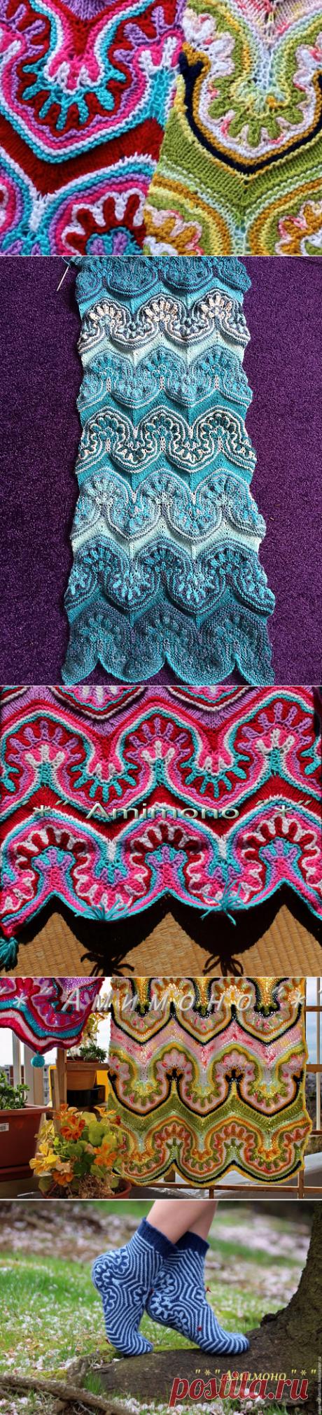 Вяжем узор «Турецкая волна»: осваиваем необычный и эффектный способ вязания на спицах